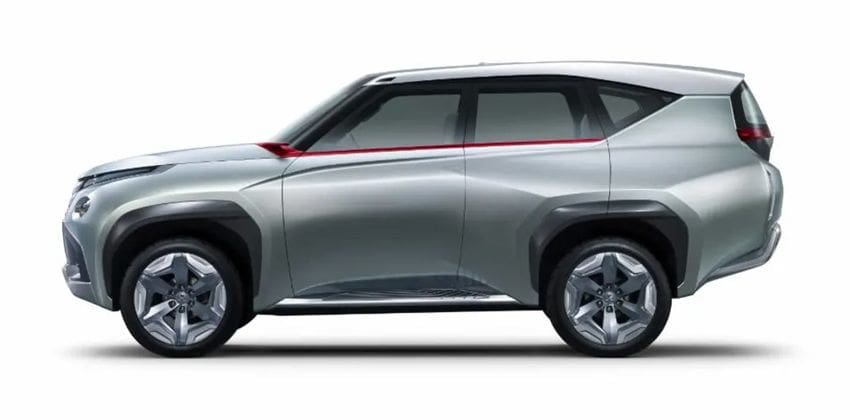 Mitsubishi's Pajero side