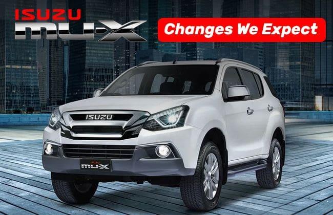 Isuzu mu-X: Changes we expect