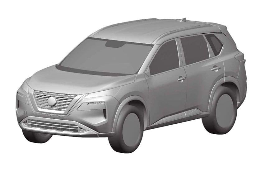 Terungkap! Ini dia Bentuk Generasi Penerus Nissan X-Trail