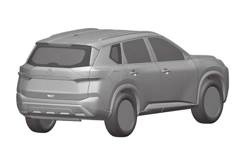 Desain Nissan Rogue / X-Trail baru