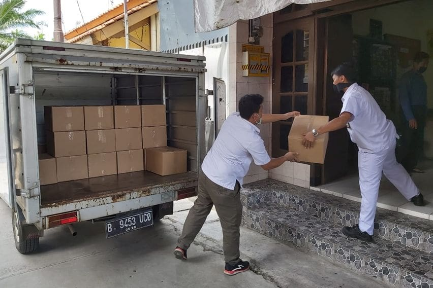 Astra Honda Motor donasi 900 paket kesehatan di Jakarta dan Jawa Barat