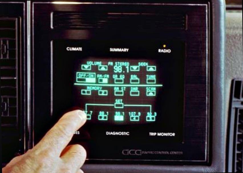 Buick Riviera Touchscreen