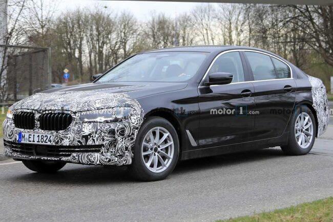 Foto BMW Seri-5 G30 Facelift Beredar, Diprediksi Mengaspal Akhir 2020