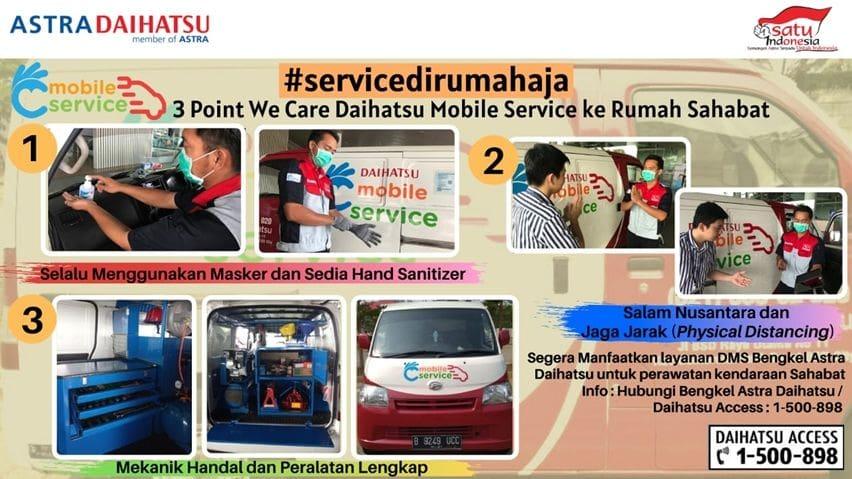 Daihatsu servis #dirumahaja