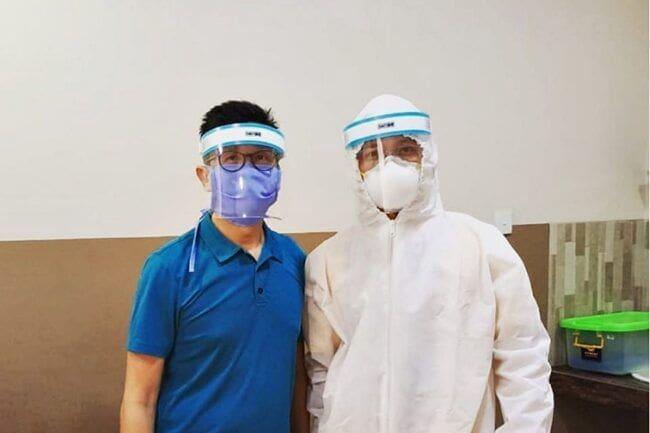 Bantu Tenaga Medis Lawan Covid-19, Sectbill Produksi Face Shield
