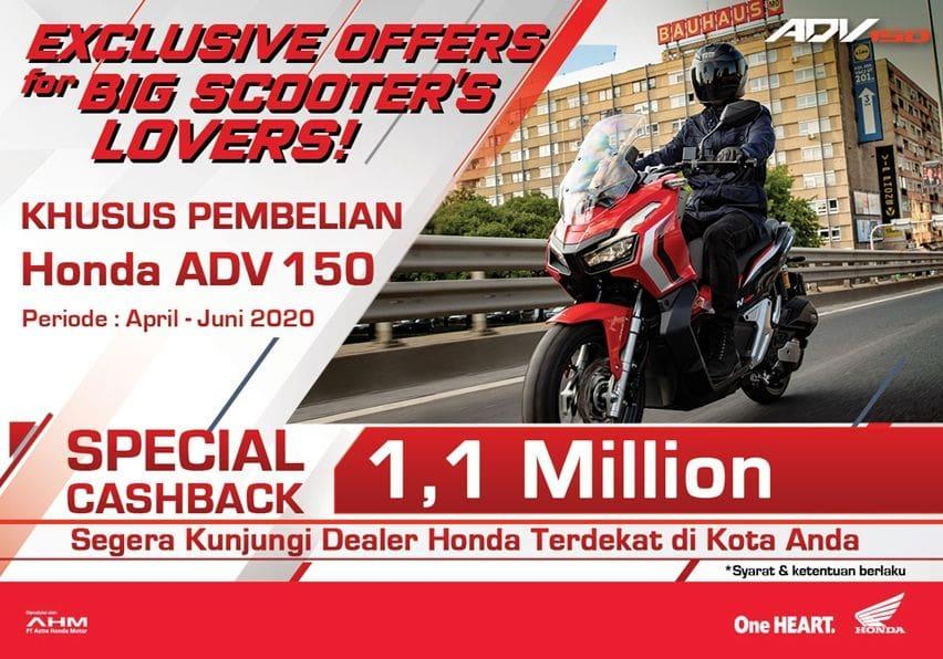 Promo Honda ADV 150