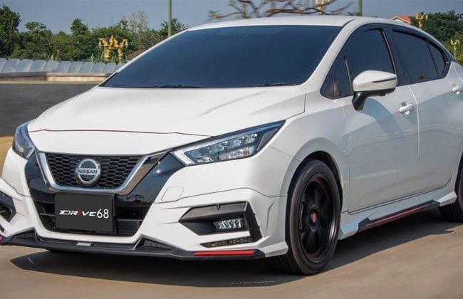 2020 Nissan Almera Looks Striking In Ter Studio Body Kit