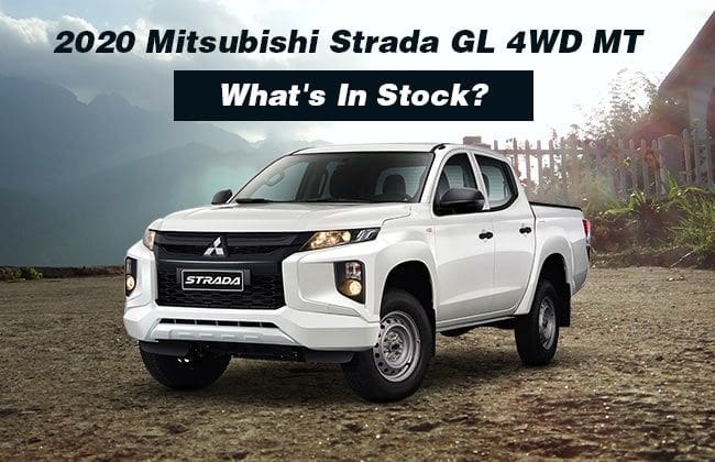 New manual Mitsubishi Strada GL 4WD - Additional bits