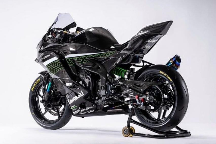 kawasaki ZX-25R race edition rear