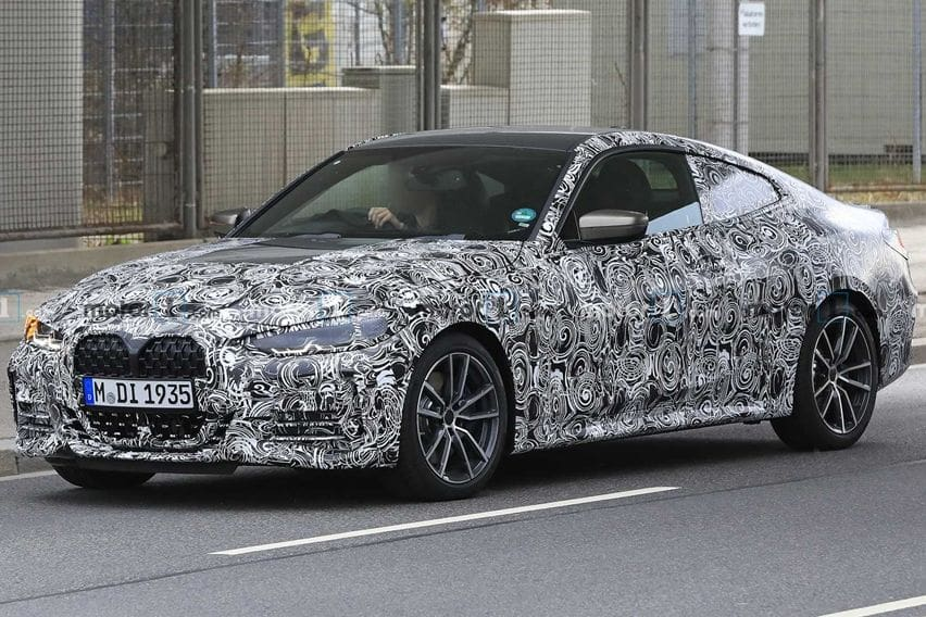spy shot bmw 4-series