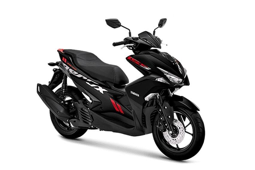 Yamaha Aerox standard black