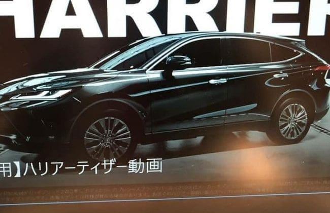 2020 Toyota Harrier leaked ahead of debut
