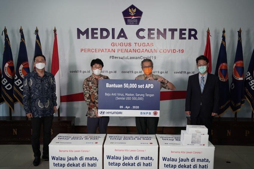 Hyundai Indonesia Donasikan APD Senilai Rp 8,2 Miliar untuk Tenaga Medis