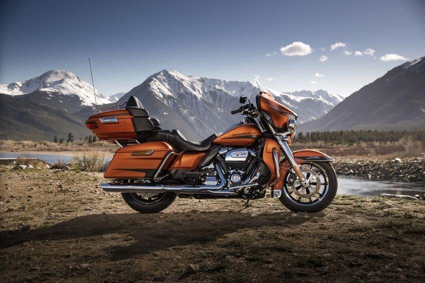 Motor Harley-Davidson Bakal Pakai Teknologi Penyeimbang Giroskop