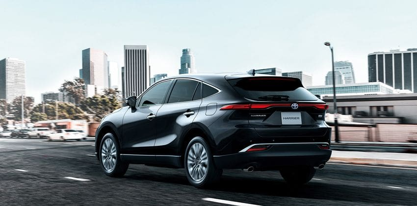 2020 Toyota Harrier  rear
