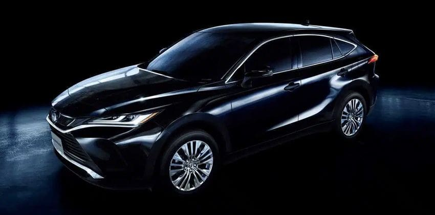 2020 Toyota Harrier  front