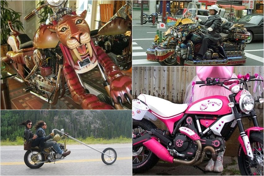 Modifikasi Motor Anti Mainstream, Dari Lucu Hingga Menyebalkan (Part-2)