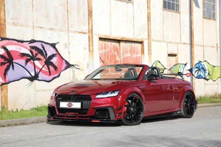 Audi TT RS Roadster Gaya Urban, Semua Sektor Kena Garap Demi Performa