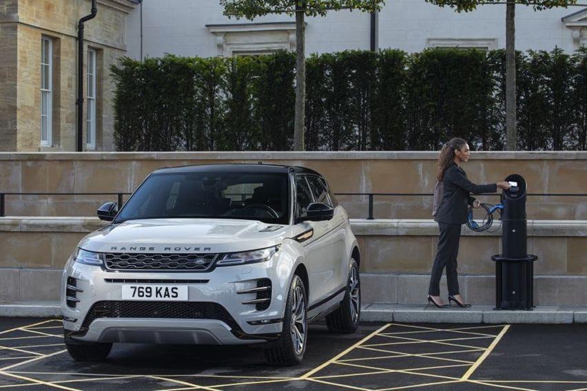 Land Rover Rilis Range Rover Evoque dan Discovery Sport PHEV