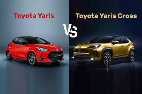 Toyota Yaris Vs. Yaris Cross: Low-riding hatchback or high-riding SUV