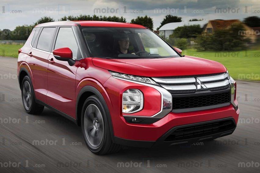 Olah Desain Mitsubishi Outlander Anyar, Mirip Engelberg Tourer Concept