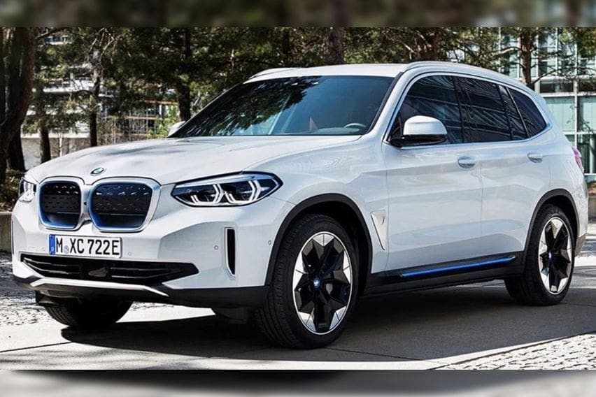 BMW iX3 official images leaked