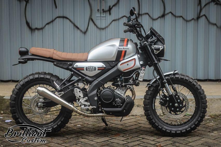 modifikasi Yamaha XSR