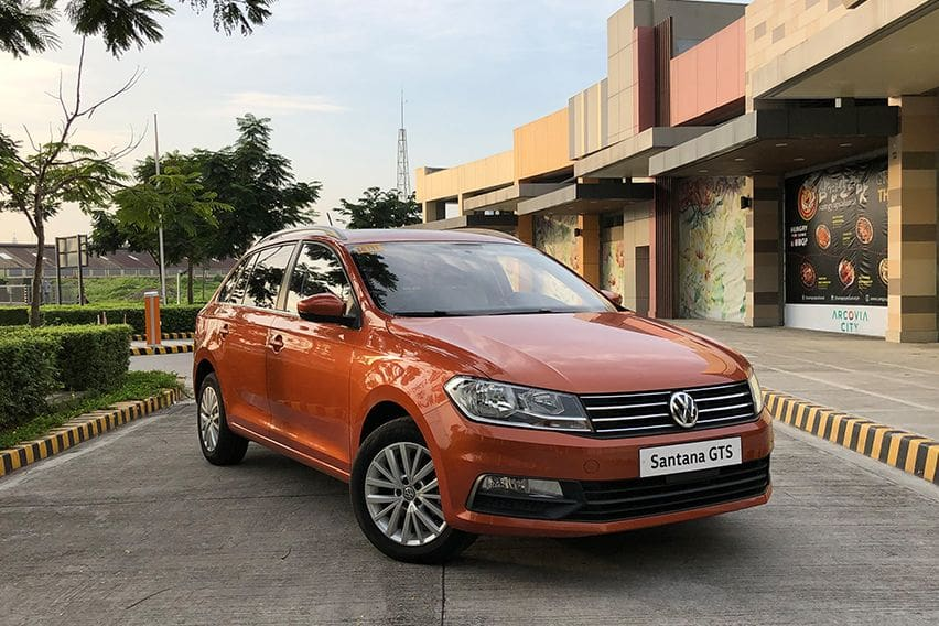 Euro-styled Volkswagen Santana GTS drives as well as it looks