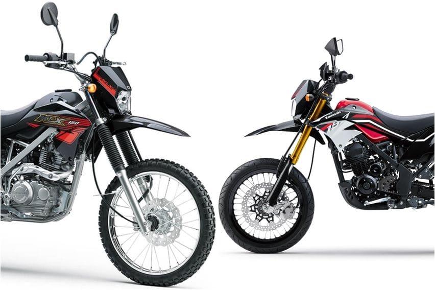 Intip Perbedaan Mendasar Kawasaki KLX 150 dan D-Tracker
