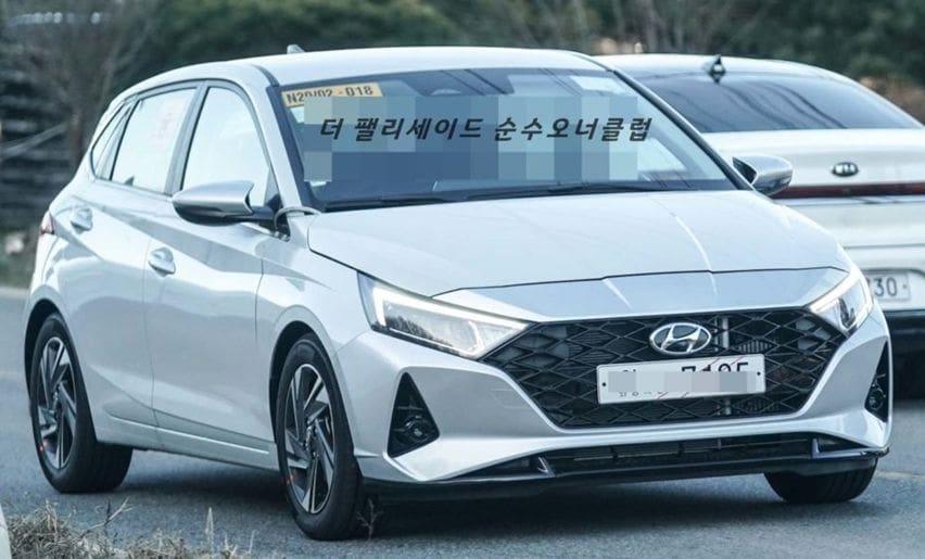 Generasi Ketiga Hyundai i20 Tertangkap di Jalan Raya Tanpa Kamuflase