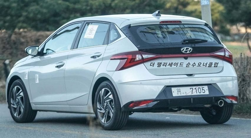 Hyundai i20 2020 rear end
