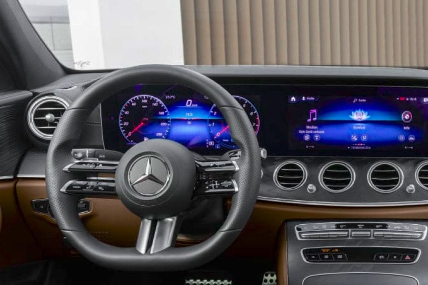 2021 mercedes-benz e-class comes with a new touch
