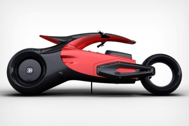 Seperti Inikah Wujud Bugatti Chiron Versi Motor?