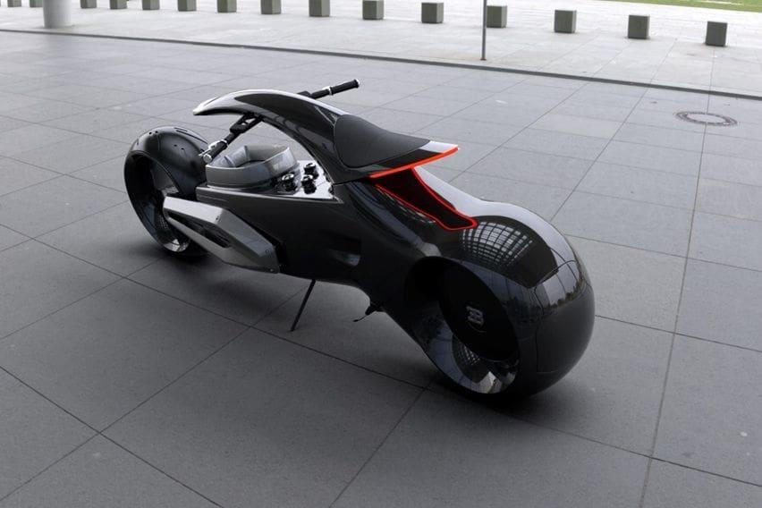 Konsep motor terinspirasi Bugatti Chiron