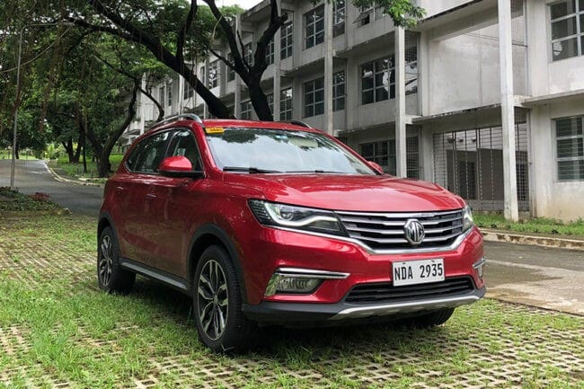 How the MG RX5 Style AT makes China-made look really good