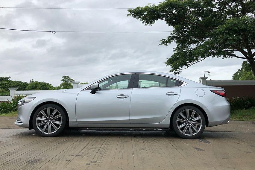 Mazda 6 2.2L SkyActiv-D 4DR side