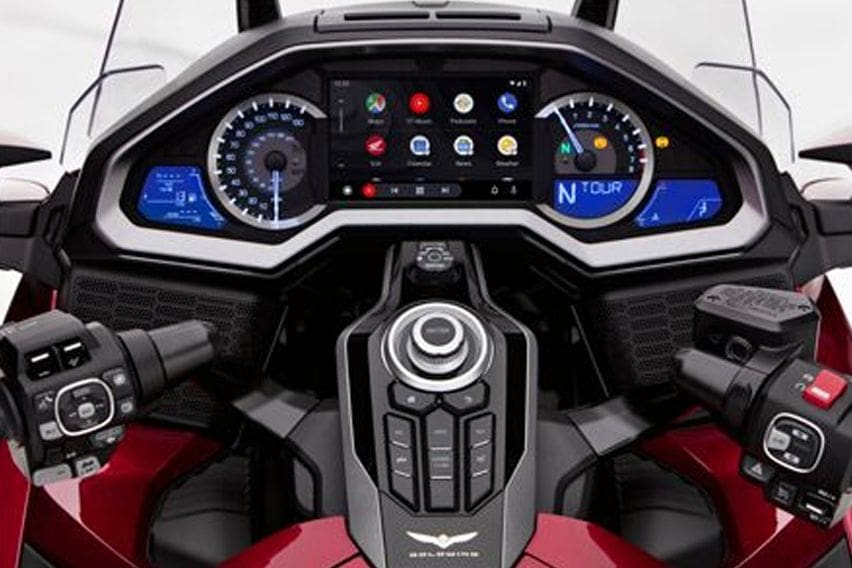 Honda Gold Wing now comes with Android Auto connectivity