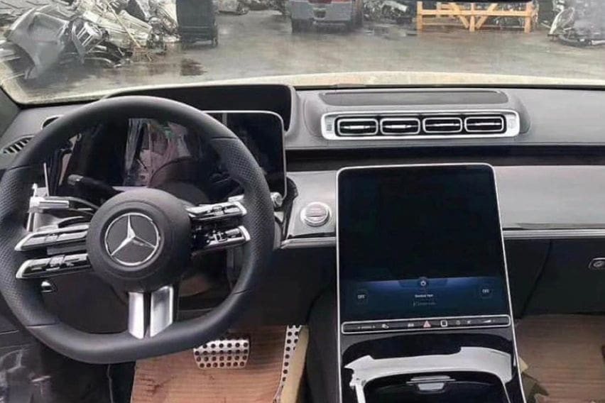 Check out the first look of 2021 Mercedes-Benz S-Class