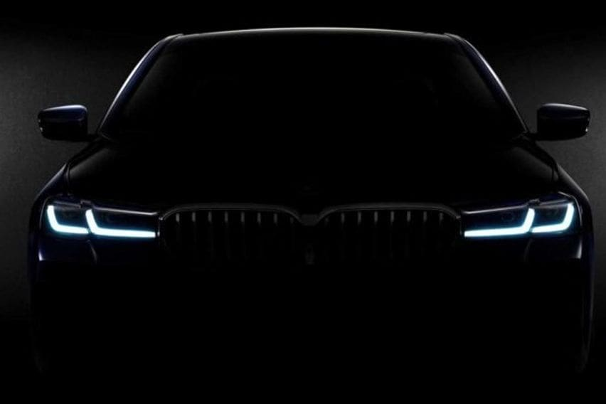 2021 BMW 5 Series facelift teaser released, debut in two weeks
