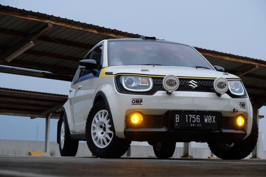 Transformasi Suzuki Ignis Gaya Rally Look, Performa Turut Naik