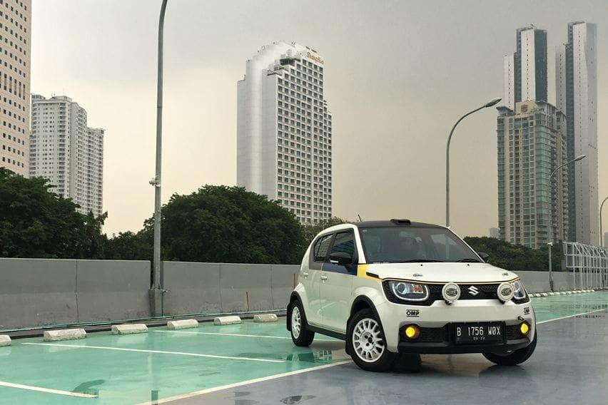 Suzuki Ignis Rally Look modifikasi
