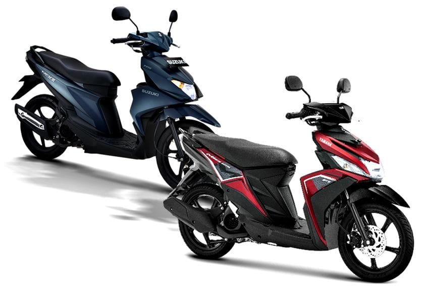Yamaha Mio M3 vs Suzuki Nex II Mana yang Layak Dipinang?