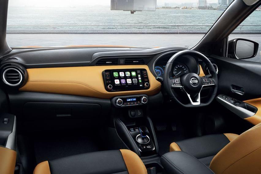 Interior Nissan Kicks e-Power