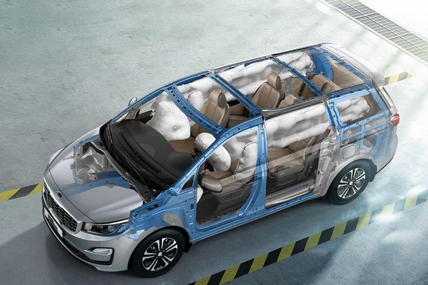 Kia Grand Carnival airbags