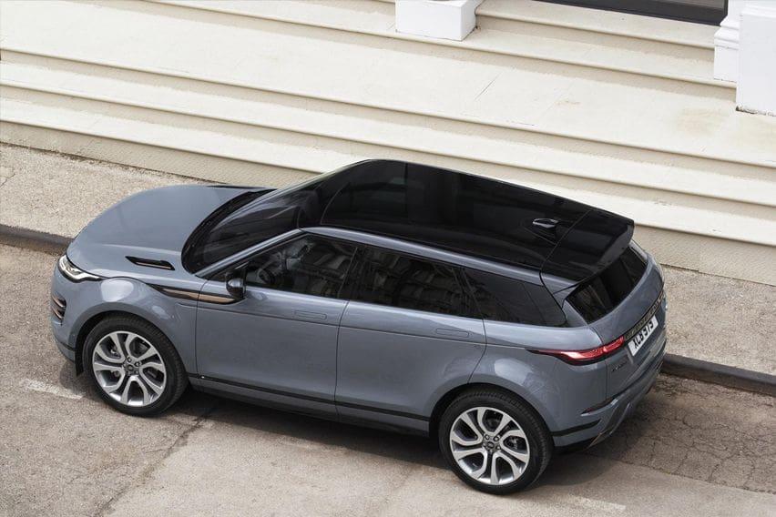 2020 Range Rover Evoque top-view