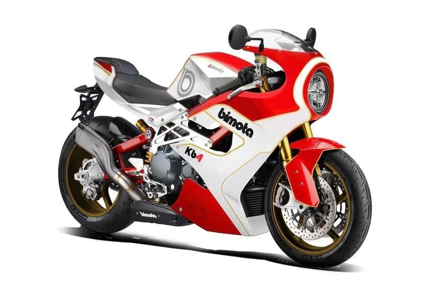 Check out the rendered images of the new Bimota KB4