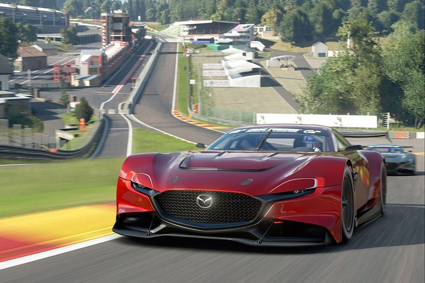 The Mazda RX-Vision GT3 Concept is now in Gran Turismo Sport