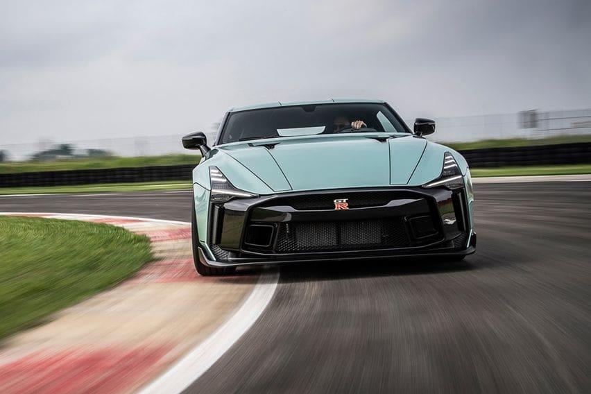 Nissan GT-R50 Rancangan Italdesign Mendebut di Italia