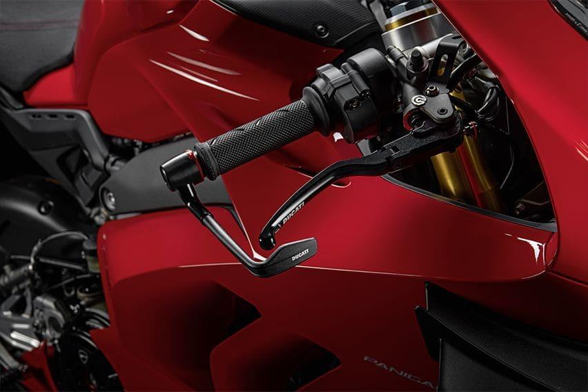 Looks, performance via Ducati Panigale V4 racing package