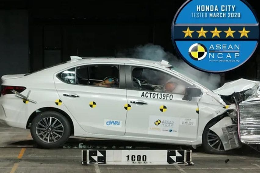 Honda City safety rating